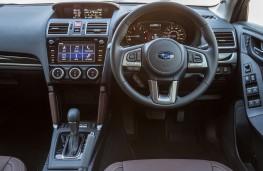 Subaru Forester Special Edition, 2016, dashboard