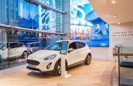 Ford's new retail experience at NEXT in Manchester