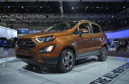 Ford EcoSport, 2016, Los Angeles auto show