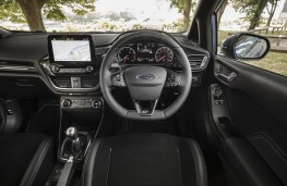 Ford Fiesta ST, dashboard