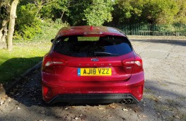 Ford Focus 1.5 TDCi ST Line X, rear