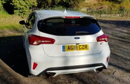 Ford Focus ST, rear