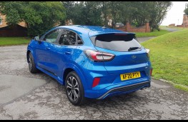 Ford Puma 1.0 EcoBoost ST-Line, rear