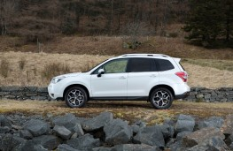 Subaru Forester, side, static