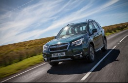 Subaru Forester Special Edition, 2016, front, action