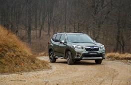 Subaru Forester e-Boxer, 2021, front
