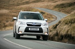 Subaru Forester XT, front, action