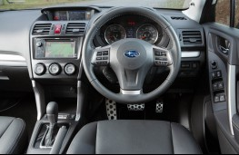 Subaru Forester XT, interior