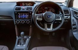 Subaru Forester, 2018, interior