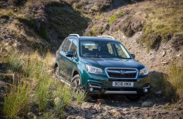 Subaru Forester Special Edition, 2016, front, off road
