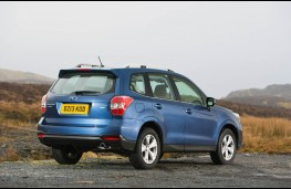 Subaru Forester, rear