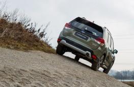 Subaru Forester e-Boxer, 2021, rear, off road