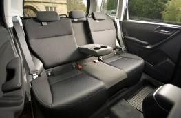 Subaru Forester XT, rear seats