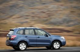 Subaru Forester, side