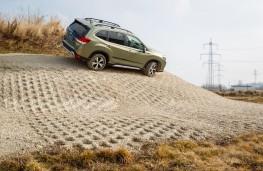 Subaru Forester e-Boxer, 2021, side, off road, slope