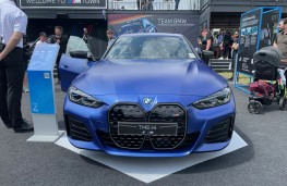 Goodwood Festival of Speed, 2021,BMW i4, front