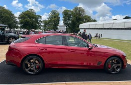 Goodwood Festival of Speed, 2021, Genesis G70 Shooting Brake, side