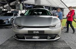 Goodwood Festival of Speed, 2021, Kia EV6, front
