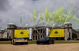 Goodwood Festival of Speed, 2021, Lotus Evija and Emira
