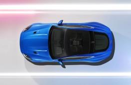 Jaguar F-TYPE British Design Edition, overhead