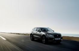 Jaguar F-Pace 300 Sport, 2020, front, action