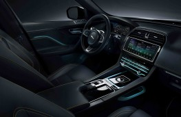 Jaguar F-Pace, 2016, interior
