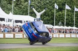 Jaguar F-PACE, Goodwood 2016, stunt, rear