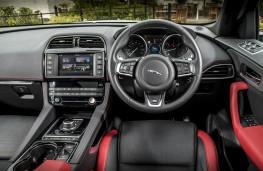 Jaguar F-Pace S, dashboard