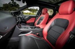 Jaguar F-Pace S, interior front