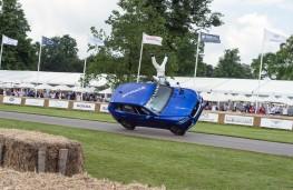 Jaguar F-PACE, Goodwood 2016, stunt, side