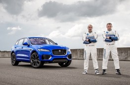Jaguar F-PACE, Goodwood 2016, Terry Grant (left), Lee Bowers (right)
