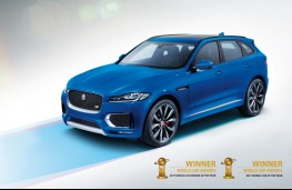 Jaguar F-PACE, World Car of the Year 2017