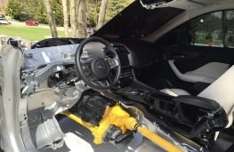 Jaguar F-PACE, 2016, cutaway, interior