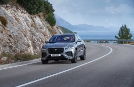 Jaguar F-PACE, 2020, front, action