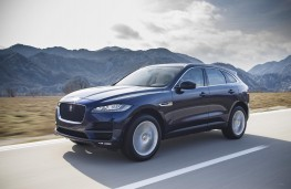 Jaguar F-PACE, 2016, front, action