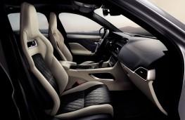 Jaguar F-PACE SVR, 2018, interior