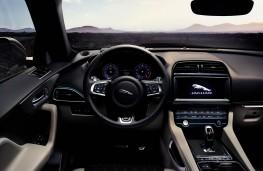 Jaguar F-PACE SVR, 2019, interior