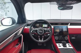 Jaguar F-PACE, 2020, interior