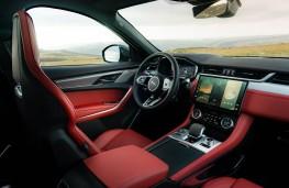 Jaguar F-PACE, 2021, interior