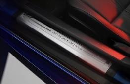 Jaguar F-TYPE British Design Edition, kickplate