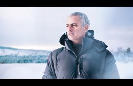 Jose Mourinho, Jaguar F-PACE, ice driving