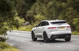Jaguar F-Pace, rear, action