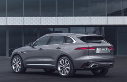 Jaguar F-PACE, 2020, rear