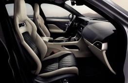 Jaguar F-PACE SVR, 2019, front seats