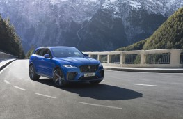 Jaguar F-Pace, side
