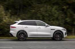 Jaguar F-Pace, side, action