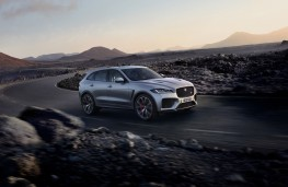 Jaguar F-PACE SVR, 2018, side