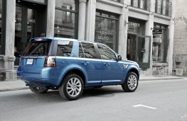 Land Rover Freelander 2013, rear, static