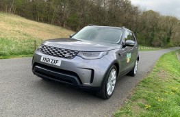 Land Rover Discovery Commercial, 2021, front, static