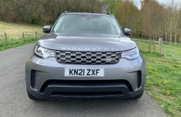 Land Rover Discovery Commercial, 2021, nose